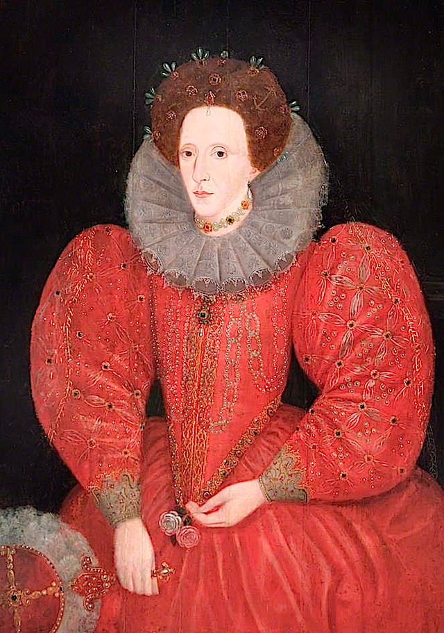 Queen Elizabeth I (1533–1603) by Lucas de Heere (Royal Borough of Windsor and Maidenhead, Civic Collection - Maidenhead, Berkshire UK)