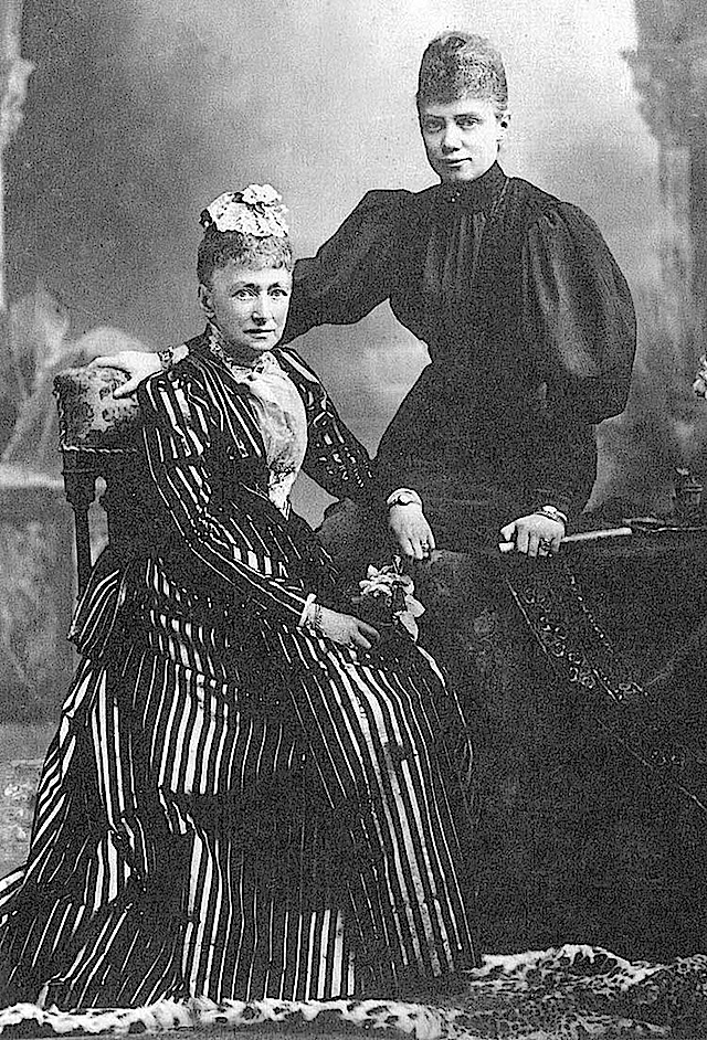 Queen Louise and Princess Thyra of Denmark From the lost gallery's photostream on flickr