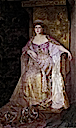 Queen Mary of Romania color portrait