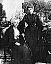 Queen of Italy with her mother at Agliè Castle