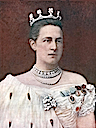 Queen Olga Konstantinova of Greece print published 1901