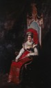 Rainha de Portugal, Dona Carlota Joaquina de Borbón no exilio como Imperatriz de Brasil by ? (location unknown to gogm) the lost gallery