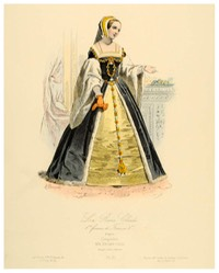 Reine Claude, 1st wife of François I 19th century print