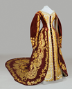 Russian court dress, second half of 19th century, from the State Hermitage Museum via Museo Nacional del Prado