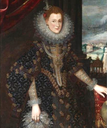 D. Isabel Clara Eugenia, Princess of Portugal, by Flemish school (location unknown to gogm)