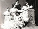 1859 (estimated) Alexandra Iosifovna and children