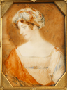 Sarah Sophia Child Villiers, Countess of Jersey attributed to John Linnell the Elder (auctioned by Bonham's)