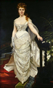 1876 Mademoiselle X, Marquise Anforti by Charles-Émile-Auguste Carolus Duran (Musée Cambrai - Cambrai, Nord department France)