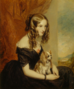 Selina, Countess of Bradford by G. Clarke, after Sir Francis Grant (Hughenden Manor - High Wycombe Buckinghamshire UK)