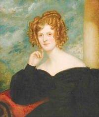 Selina Louisa Bridgeman, née Weld-Forester, Countess of Bradford by Sir Thomas Lawrence (Art Gallery of Greater Victoria - Victoria, British Columbia, Canada) From aggv.ca