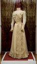 ca. 1888 Sisi's last white gown, she wore it her daughter's engagement party From pinterest.com:bookwoman15:royal-fashion: