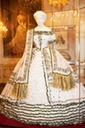 Empress Elizabeth trousseau dress from Sisi Museum site