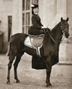 1863 Photo of Sisi smiling on horse