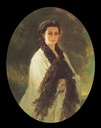 1864 Empress Elisabeth en déshabillé by Franz Xavier Winterhalter (location unknown to gogm)