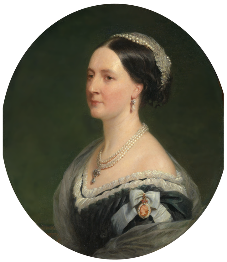 Susannah, Duchess of Roxburghe (1814-1895) by Henry Wyndham Phillips (Royal Collection) From liveinternet.ru-users-marylai-rubric-5082111-friends 2 shadows