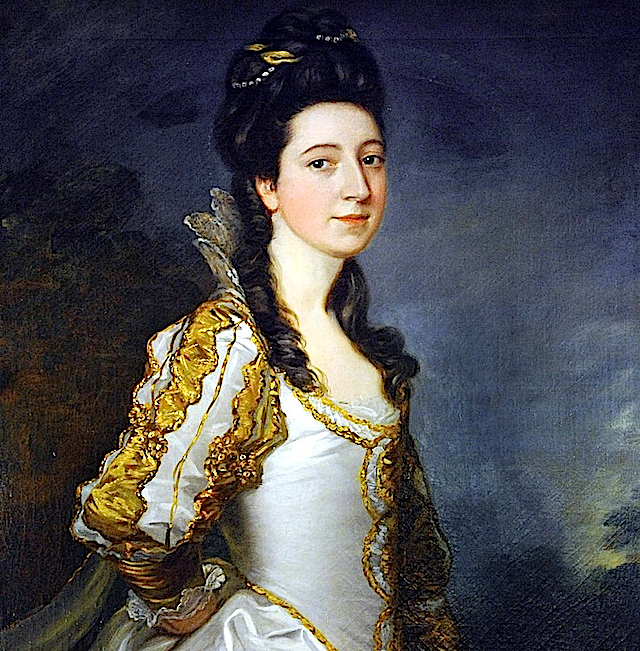 Susannah Trevelyan by Thomas Gainsborough and over-painted by Sir Joshua Reynolds (Wallington Hall - Northumberland) From www.northnews.co.uk:article:7