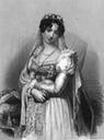 Laure Junot in Napoléonic court dress from The Court of Napoleon