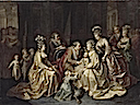 1781 The Royal Family of France in 1781 by an anonymous artist