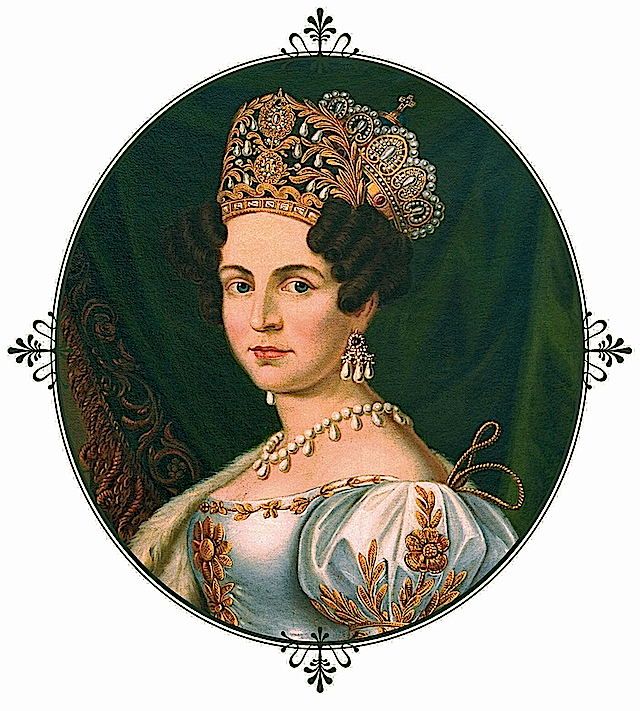 Theresa of Saxe-Hilburgausen, Queen of Bavaria by ? (location unknown to gogm) From the lost gallery's photostream on flickr