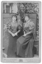 Toria and sister Maud by W. & D. Downey