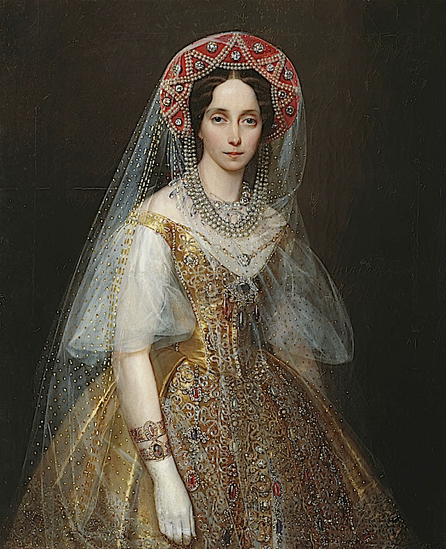 Grand Duchess Maria Alexandrovna by Ivan Makarov (location unknown to gogm)