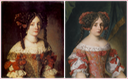 Unknown Ladies by Jacob Ferdinand Voet (location ?) From godsandfoolishgrandeur.blogspot.com-2014-12-ornamented-ladies-portraits-of-french.html