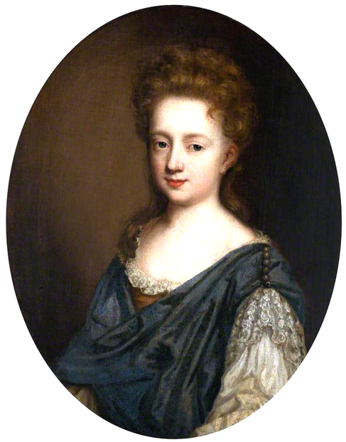 Urith Pole (d. 1697), Lady Trevelyan, in the style of Mary Beale (Antony House - Torpoint, Cornwall, UK) bbc.co increased exposure