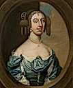 Vere Lady Isham (d.1704), Wife of 2nd Bt Isham by David Loggan (Lamport Hall - Lamport, Northamptonshire UK)