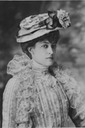 Victoria of Wales wearing a frilly top