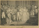 Victoria and Albert marriage print