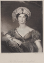Viscountess Beresford print after Sir Thomas Lawrence, portrait engraved by E. Finden (National Library of Ireland - Dublin, Ireland)