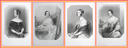 Viscountess Duncan, Countess Craven, Lady Louisa Fortescue, and Hon. Mrs. Fox-Maule