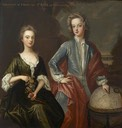 William Godolphin (c.1700–1731), Viscount Rialton, Later Marquess of Blandford and His Sister, Henrietta (d.1776), Later Duchess of Newcastle in the style of Sir Godfrey Kneller (auctioned by Christie's to British National Trust)