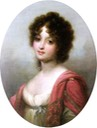 Zofia Czartoryska by Józef Grassi copy (location unknown to gogm) From pinterest.com:carycaiv:polish-nobility-in-art: